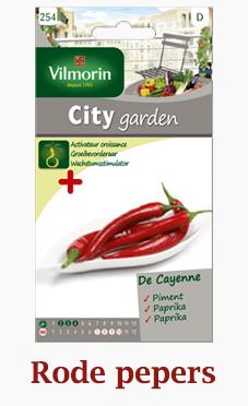 Rode pepers zaden