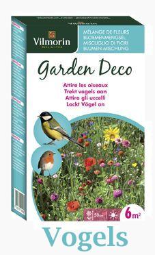 Vogels naar tuin lokken