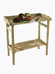 Werktafel moestuin